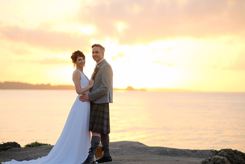 Destination wedding and photo shooting in Okinawa, Japan.
