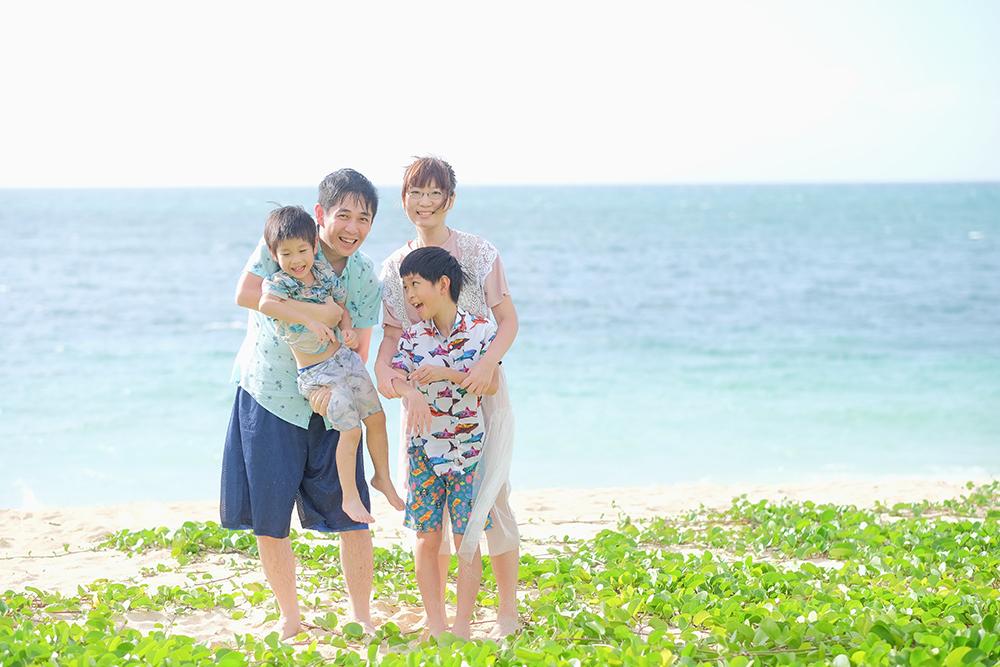 沖繩親子寫真, 當地台灣攝影師拍攝