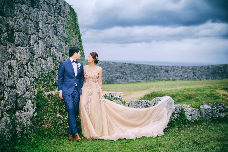 沖繩座喜味城婚紗