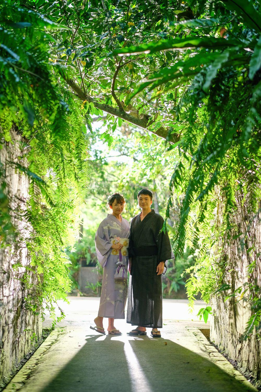 沖繩和服婚紗拍攝