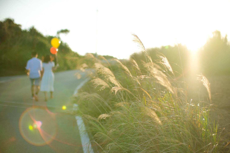 沖繩情侶寫真、旅拍。Engagement photo in Okinawa, Japan