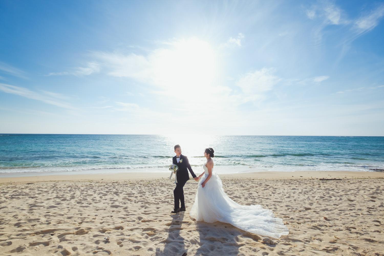 沖繩婚禮紀錄、婚禮後婚紗、沖繩婚紗