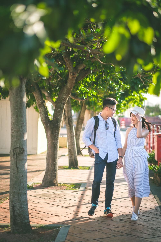 沖繩美國村情侶寫真