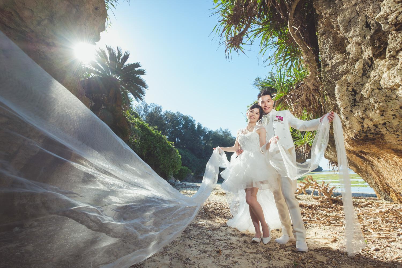 沖繩婚禮後外拍婚紗