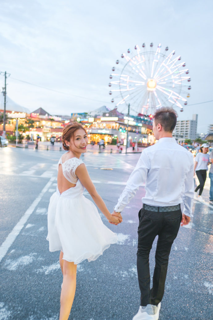 沖繩古城及美國村婚紗照
